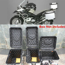 3x Faux Leather Tail Top Box Cover Saddle Case Inner Liner Pouch For BMW R1200GS