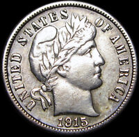 1915-S Barber Dime Silver Coin ----  Stunning L@@K  ---- #L542