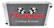 3 Row Aluminum Champion Radiator for 1980 - 1984 Ford F-Series Pickups V8 Engine