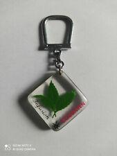 Porte-clés BOURBON Feuille de Thé Infusion FLORIAN keychain vintage années 60