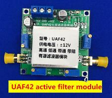 Uaf42 Universal Active Filter Adjustable Narrow Low /High Pass /Band Pass Filter