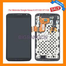 LCD Touch Screen Digitizer W/Frame For Motorola Google Nexus 6 XT1100 XT1103 USA