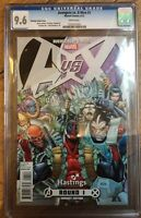 Avengers Vs X-Men #1 Hastings Deadpool Retailer Variant CGC 9.6