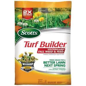 Scotts Turf Builder Winterguard 14 lbs. 5,000 sq. ft. Fall Lawn Fertilizer Plus