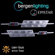 FOR BMW 3 SERIES F30 E90 E91 E93 E46 1998 On CLEAR/AMBER LED SIDE REPEATER LAMPS
