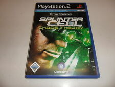 PLAYSTATION 2 PS 2 Tom Clancy 's Splinter Cell-caos Theory