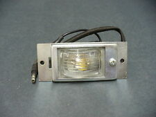 59 60 Ford license plate light lamp assembly Galaxie Fairlane Victoria
