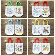 12 Pcs/Set Children's DIY Environmental Graffiti Bag Kids Kindergarten Handmade