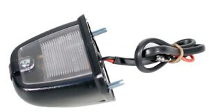 New Black License Plate Light Lamp Assembly MGB MG Midget 1975-1980
