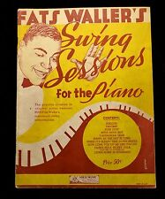 Fats Waller's Swing Sessions for The Piano Star Dust Shoe Shine Boy