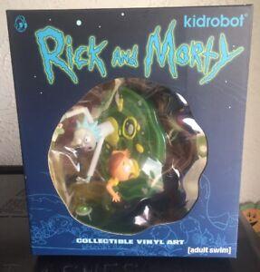 Rare New Rick and Morty 7-Inch Medium Vinyl Figure - Kidrobot x Adult Swim