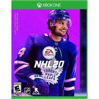NHL 20 EA Sports (Microsoft Xbox One XB1) Brand New Factory Sealed