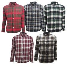Mens Brushed Flannel Check Shirts Clearance!