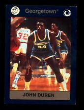 John Duren Autograph Signed 1991 Collegiate Collection Georgetown Hoyas