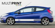 Ford Focus Fiesta ST, Side Car Stripes Vinyl Graphics Decal Sticker Motor CAR3