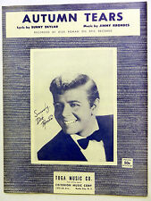 DICK ROMAN Sheet Music AUTUMN TEARS Criterion 50's POP VOCAL Easy LISTENING