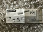 reduced Vintage 125th Anniversary Plasticville 1958 Price List Brochure Bachm