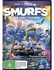 The Smurfs - Lost Village (DVD, 2017)