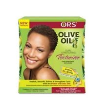 ORS Olive Oil Curl Stretching Texturizer Kit For All Hair Textures