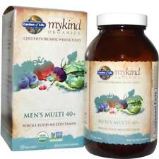 FREE Ship] Garden of Life Mykind Organics MEN's Multi 40+ (120 Vegan Tablets)