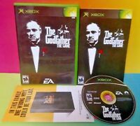The Godfather The Game -  Complete XBOX Game Tested Works w/ Manual