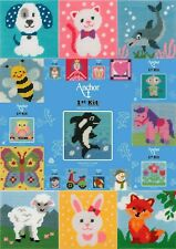 Anchor 1st Kit - Printed Tapestry Kit - Perfect for Children / Beginners