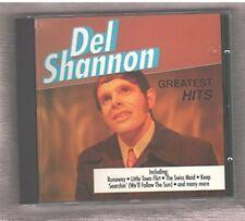 Del Shannon Greatest hits (10 tracks)  [CD]