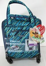 """American Tourister 16.5"""" Avatar Carry On Underseater Spinner Suitcase - Teal New"""