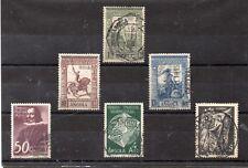 Angola Portuguesa Valores del año 1938-50 (DO-553)