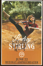 Lindsey Stirliing autographed gig poster