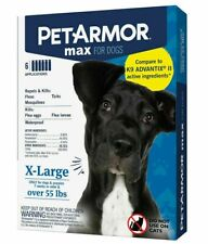 PetArmor Max for X-Large Dogs Over 55 lbs, 6-count STORE OPENED BOX SAVE!
