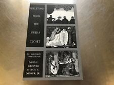 Skeletons from the Opera Closet by David Groover and C. C. Conner (2007,...2428B