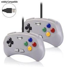 2x USB Nintendo SNES Controller Gamepad Joystick For Raspberry Pi 3 PC MAC Win