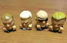 WWE Wrestling Mash'ems 4 different  Mashems Rock-Triple H New