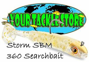 "Storm SBM 360GT Searchbait 5.5"" 3/8 oz jig You Pick Color & Quantity NIP"