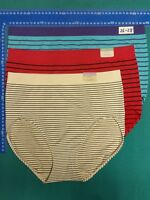 8 CACIQUE SUPER Soft stretch Women's underwear plus 18-28 Nylon Spandex