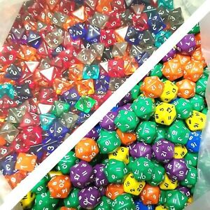 Factory Seconds Dice (By Weight) Miscast/Defective Bulk Job Lot Collection