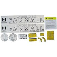 Decal Set for Farmall Super C Tractor