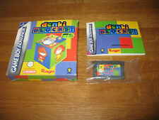 Nintendo Gameboy Advance GBA game - Denki Blocks boxed