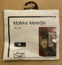 Lanarte Klokke Kleedje Holland Embroidered Cross Stitch Kit # 36008 Cuckoo Clock