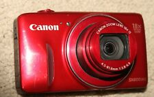 Canon PowerShot SX600 HS 16.0MP Red - For Parts only