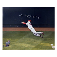 "Jim Edmonds Autographed 16 x 20 Photo JSA COA ""The Catch"""