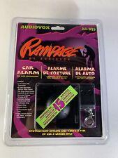New listing Audiovox Rampage Car Alarm Aa-929 New