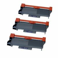 3PK TN660 TONER CARTRIDGE FOR BROTHER DCP-L2520 DCP-L2540 HL-L2300 HL-L2305 MFC