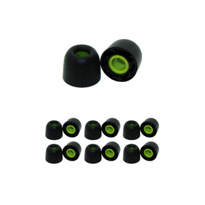 6 pair memory foam replacement earbud tips for 1More Triple Driver & Quad Driver