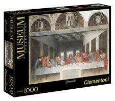 Puzzle Clementoni 1000 pezzi Museum Collection Ultima cena di Leonardo da Vinci