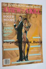 Original James Bond a View to Kill Japanese Notepad Japan Roger Moore Grace Jone