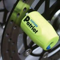 Oxford Patriot Motorbike Motorcycle Disc Lock - Extended Pin