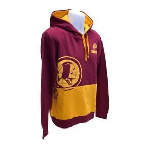 NFL Mens New Washington Redskins Hoody Sweatshirt Small Large Big Logo Hoodie