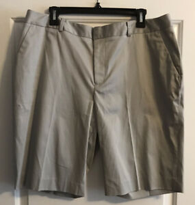 Coldwater Creek Beige Natural Fit Summer Khaki Chino Shorts Size 16 NEW💋❤️